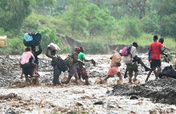 Matthew dejó alrededor de 108 muertos en Haití