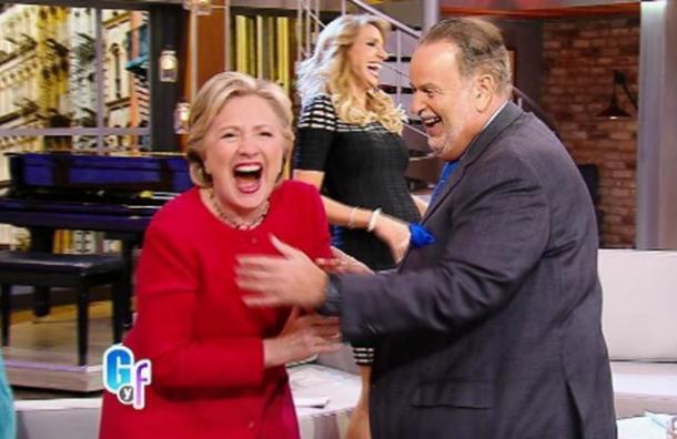 Visita de Hillary Clinton a Univision