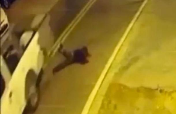 Un hombre borracho se atropelló a sí mismo en Orlando