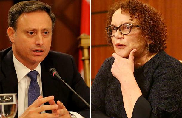 Según informe, en espionaje a Miriam fiscales pincharon teléfono de una persona fallecida