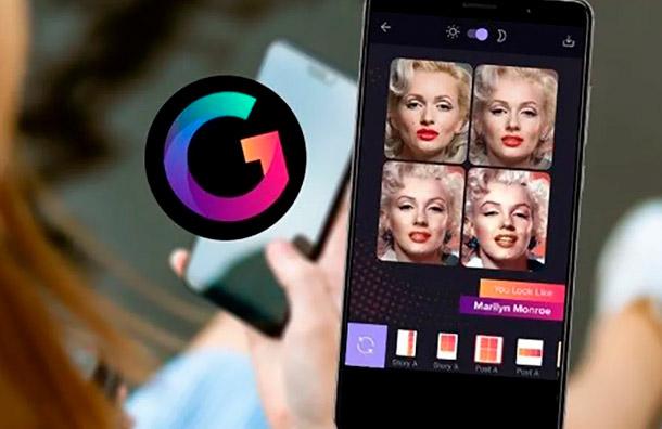 Gradient, la app viral que te dice a qué famoso te pareces