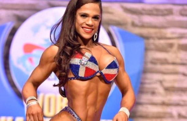Atleta dominicana alcanza segunda lugar en Mundial de Fisiculturismo