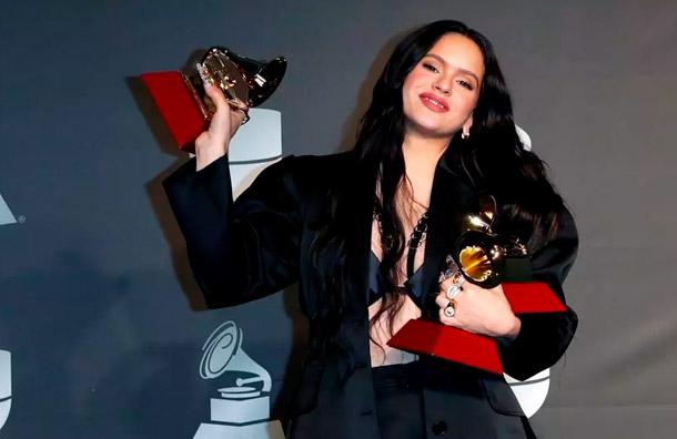 Rosalía arrasa en los Latin Grammy