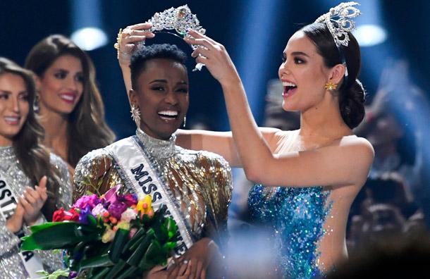 Sudáfrica es la nueva Miss Universo