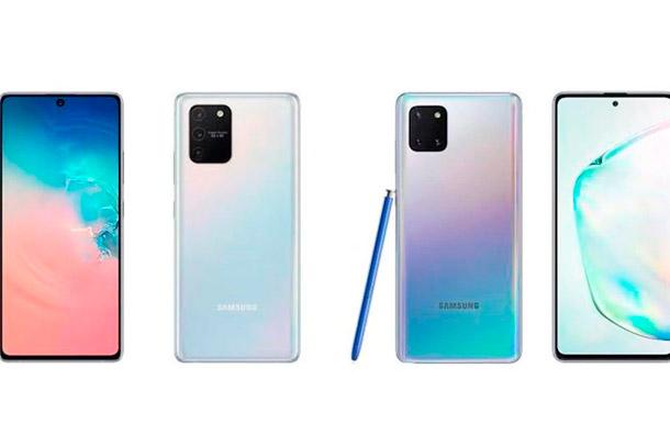 Samsung lanza el Galaxy S10 Lite y Note 10 Lite