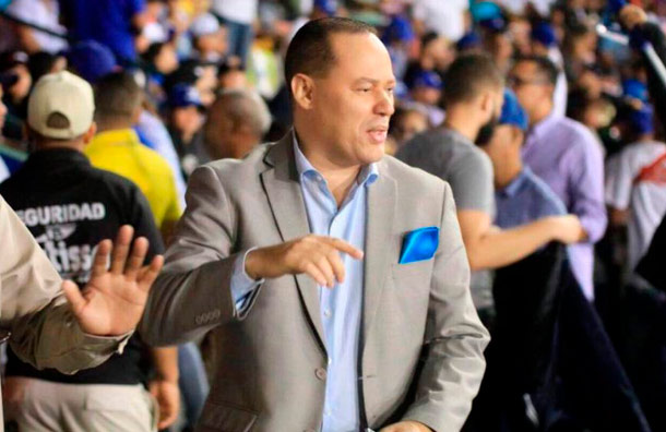 Franklin Mirabal es suspendido de la LIDOM