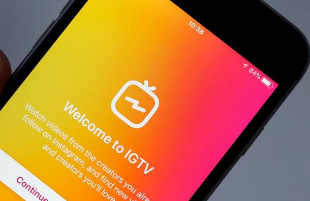 Instagram elimina el botón de IGTV