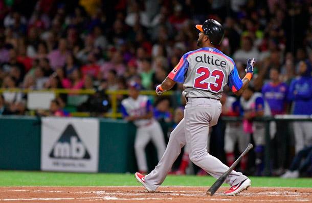 Jordany Valdespín da la victoria a República Dominicana 5-4 frente a Puerto Rico